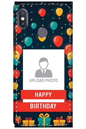 3D - Xiaomi Redmi Note 5 Pro Happy Birthday Mobile Cover