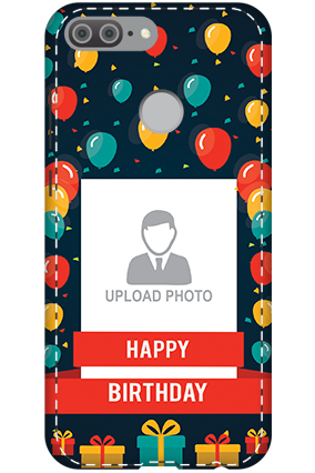 3D - Huawei Honor 9 Lite Happy birthday Mobile Cover