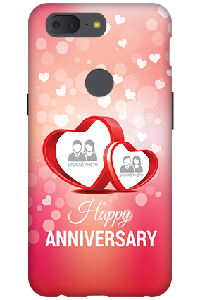Personalized 3D-OnePlus 5T Anniversary Special Mobile Cover