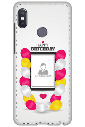 3D - Xiaomi Redmi Note 5 Pro Birthday Balloons Mobile Cover