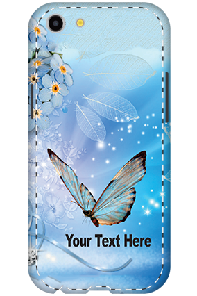 Stylish Oppo A83 Back Covers with Your Photo Print & Text