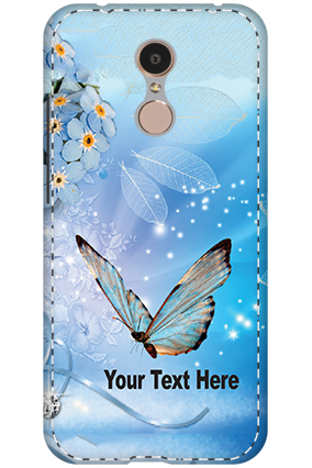 3D - Xiaomi Redmi 5 Blue Butterfly Mobile Cover