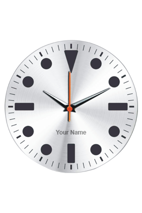 Quite Wall Clock - AV 11