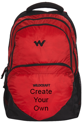Create Your Own Wildcraft Azi Laptop Backpack