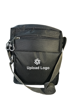 Promotional Upload Logo Grey Sling Bag