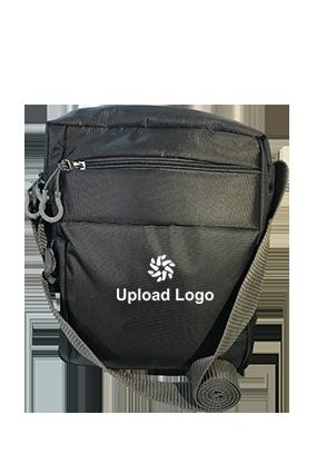 Promotional Upload Logo Grey Sling Bag