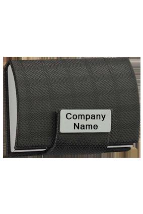 Card Holder With Clik On Lock-B86