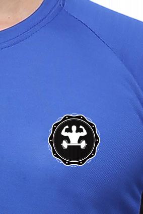 Effit Gym royal black T-Shirt
