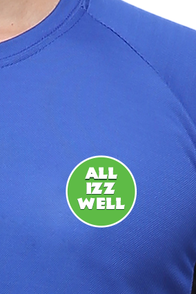 Effit All Is Well royal black T-Shirt