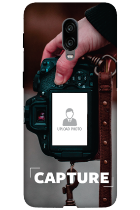 3D-Oneplus 6T I Love Photography Personalized Mobile Cover