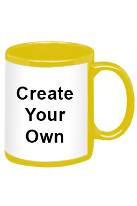 Create Your Own Yellow Patch Mug