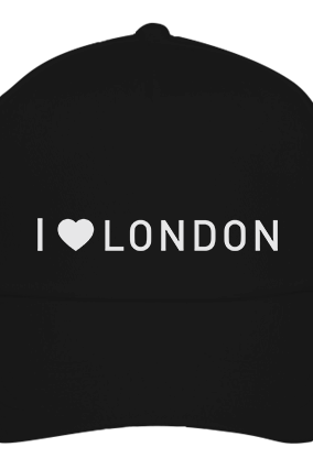 Customized I Love London Black Cap