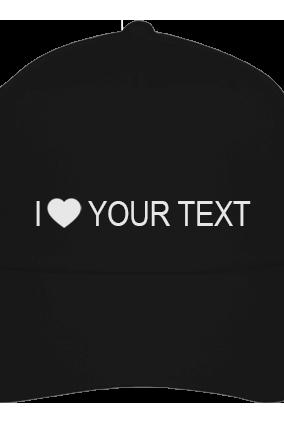 Text Black Cap