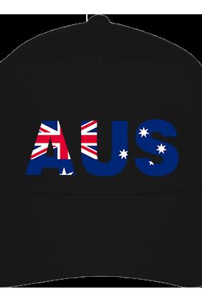 Australia Black Cap with Name