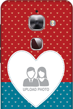 3D - Le Max 2 Colorful Heart Valentine's Day Mobile Cover