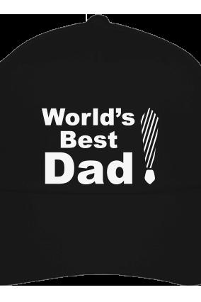 Best Dad's Black Cap