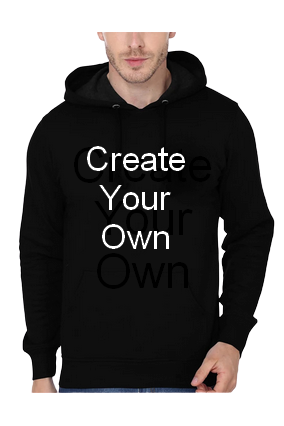 Create Your Own Hoodie (Black)