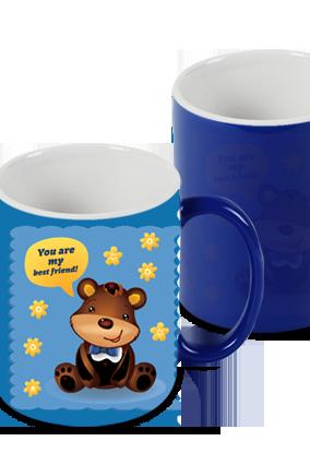 Blue Blue Magic Mug