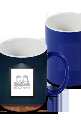 Designer Shaded Blue Magic Mug