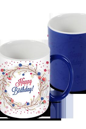 Awesome Greetings Blue Magic Mug