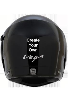 Create Your Own Vega Boolean Black Helmet