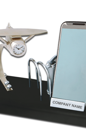Promotional Mobile Stand with Watch BTC-145