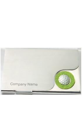 Rectangular Metallic Visiting Card Holder BVC-806
