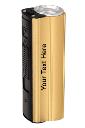 Metal Power Bank With Lighter Two Level Torch And Blinker-C51 3000 Mah