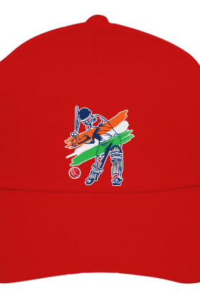 Cricket Zone Red Cap
