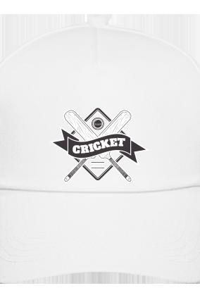 Cricket Fever White Cap