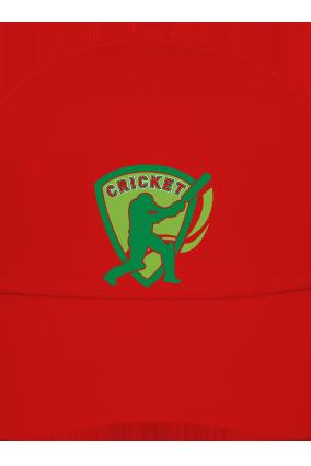 Batting Red Cap for Team