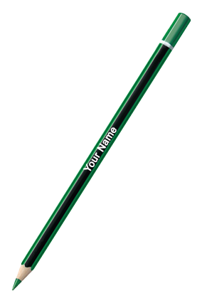 Checking Pencils 10 Pc Pack Green
