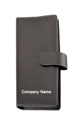 Cheque Book Cover Leatherite Loop Code-GE 131