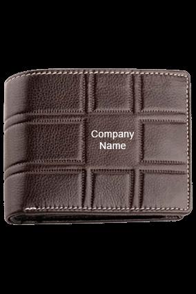 Gents Wallet Leather Ndm Br Print Code-GE 246