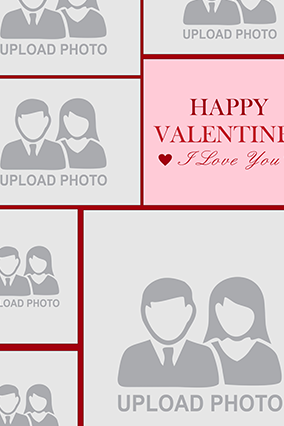 Fantastic Valentine's Day Collage