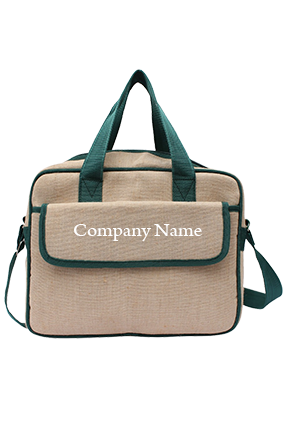 Canvas Conference Bag Green