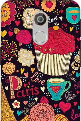 3D - Coolpad Note 5 Paris Valentine's Day Mobile Cover