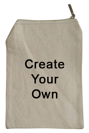 Create Your Own Cotton Pouch With Zip 6.58.0 Tote Bag
