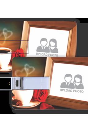 Coffee Credit Card Pen Drive