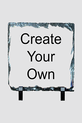Personalized Create Your Own Square Photo Rock
