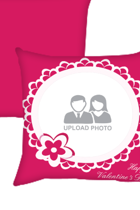 Pink Colored Cushion Cover