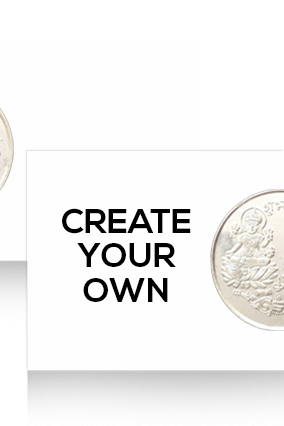Create Your Own Silver Coin 10 Grm