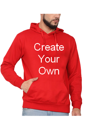 Create Your Own Red Hoodie