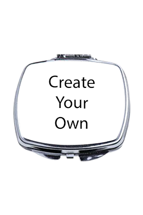 Create Your Own Rectangle Shape Compact Mirror