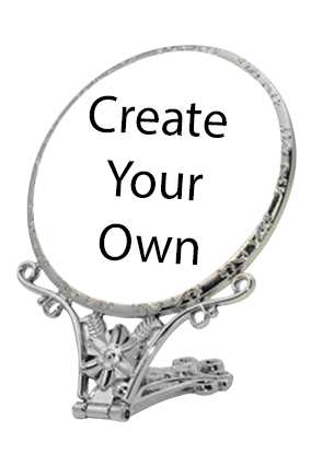 Create Your Own Antique Standing Mirror