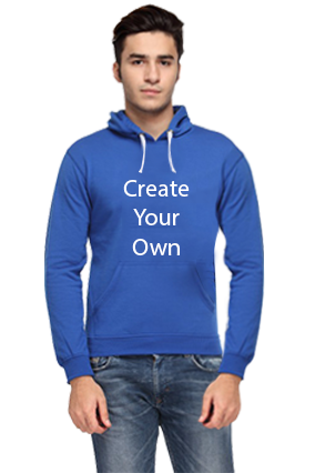 Create Your Own Hoodie (Royal Blue)