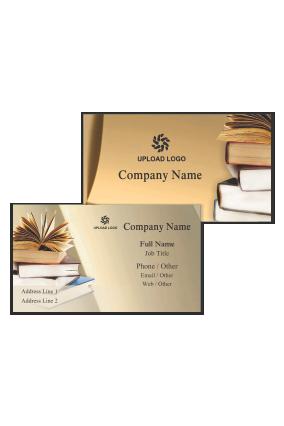 Educational Visiting Card Design Templates, Print Tutor
