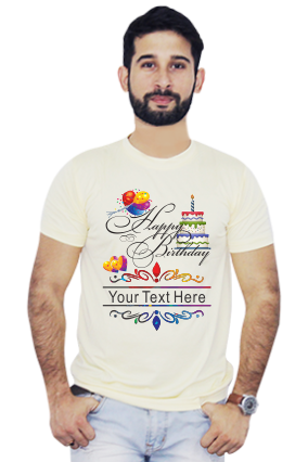 7154910aef Buy Birthday T Shirts Online in India with Custom Photo Printing ...