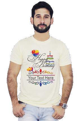 Happy Birthday Yellow Dri Fit T-Shirt