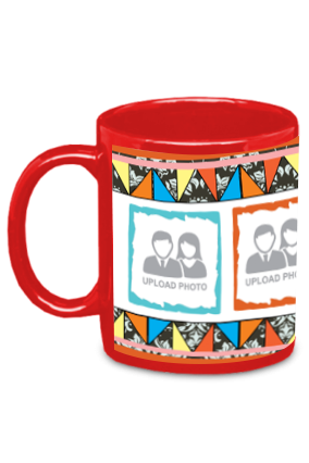Brother- The Best Companion Red Patch Mug